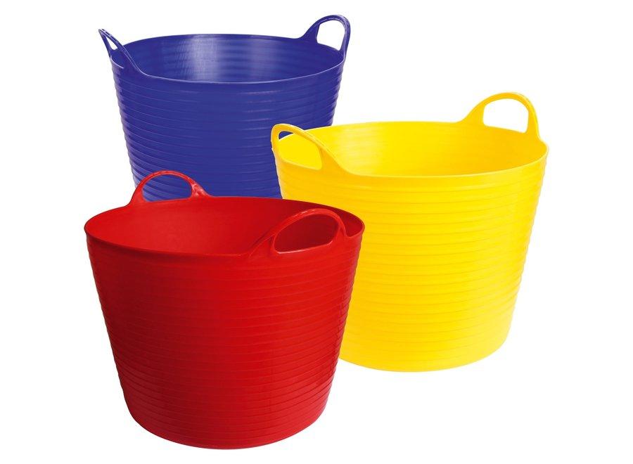 Emmer Flexi Flexbag 42 liter geel