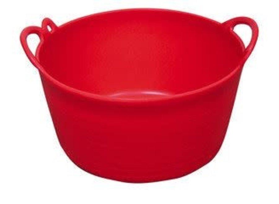 Flexi emmer 12 liter rood