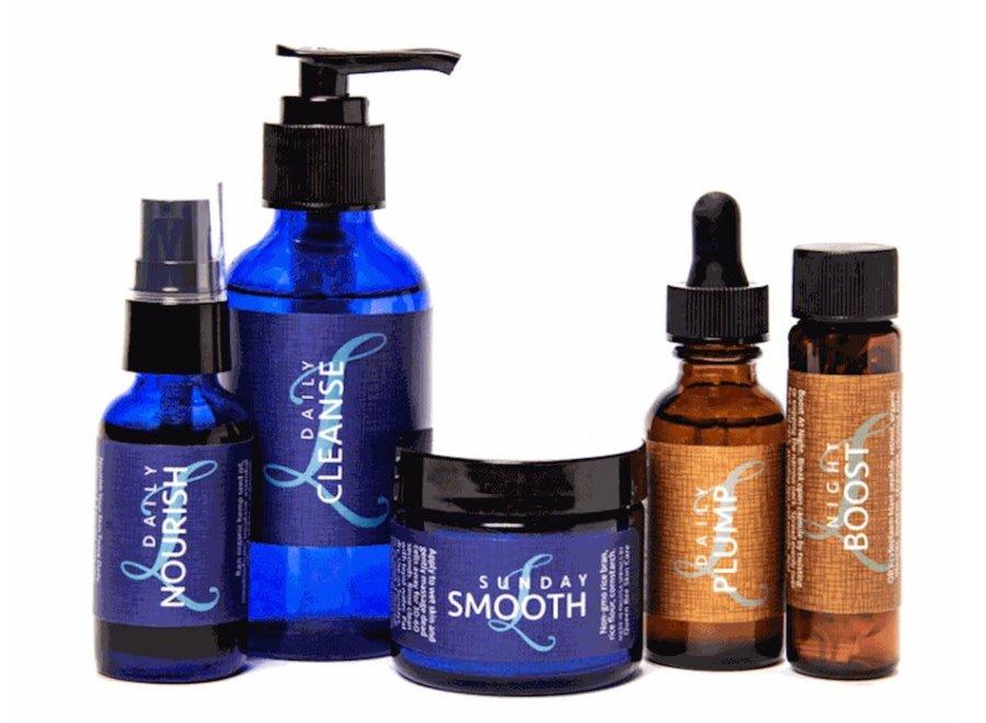 Linda Parelli Natural Skincare complete set