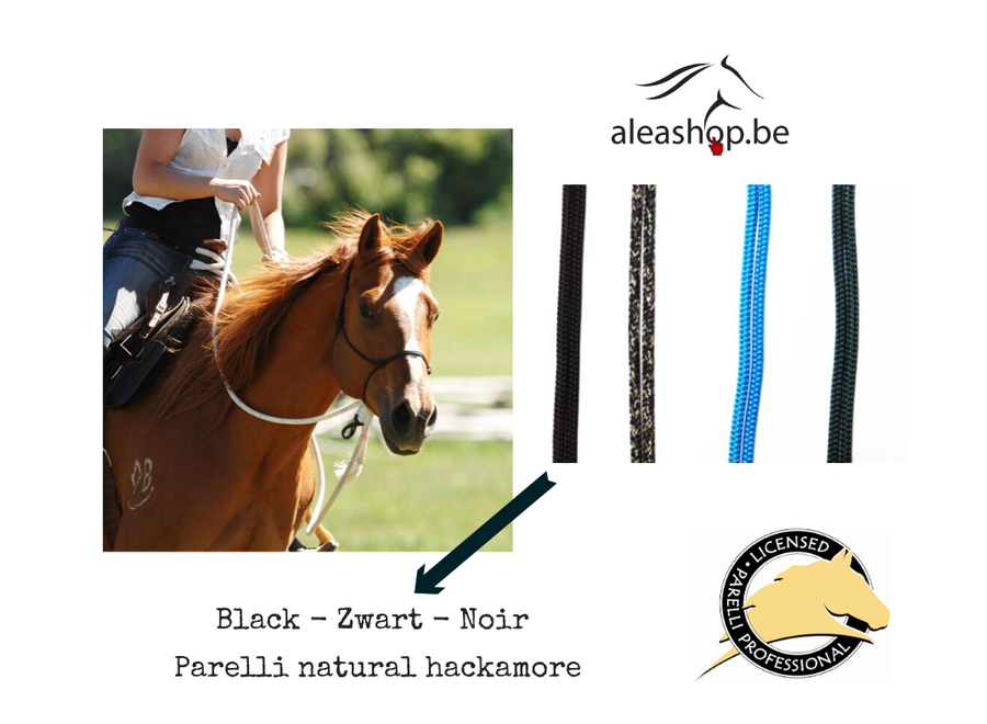 Natural Hackamore Warmbloed Zwart