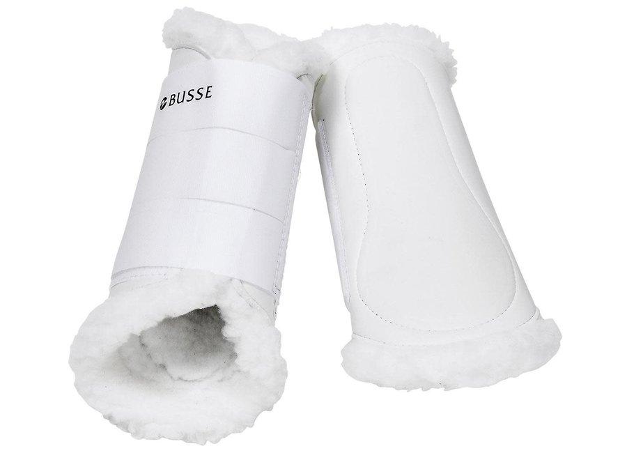 Beenbeschermer Art-Fur White