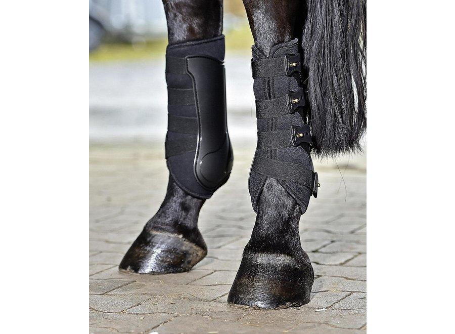 Beenbeschermers Dressage-Pro Black