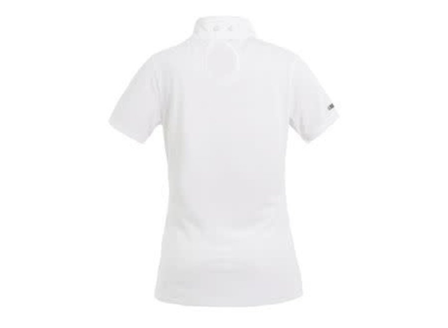 Classic Ladies Show Shirt Montana SS White XS