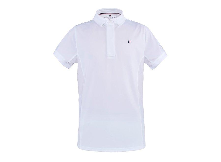 Classic Mens Show Shirt SS White