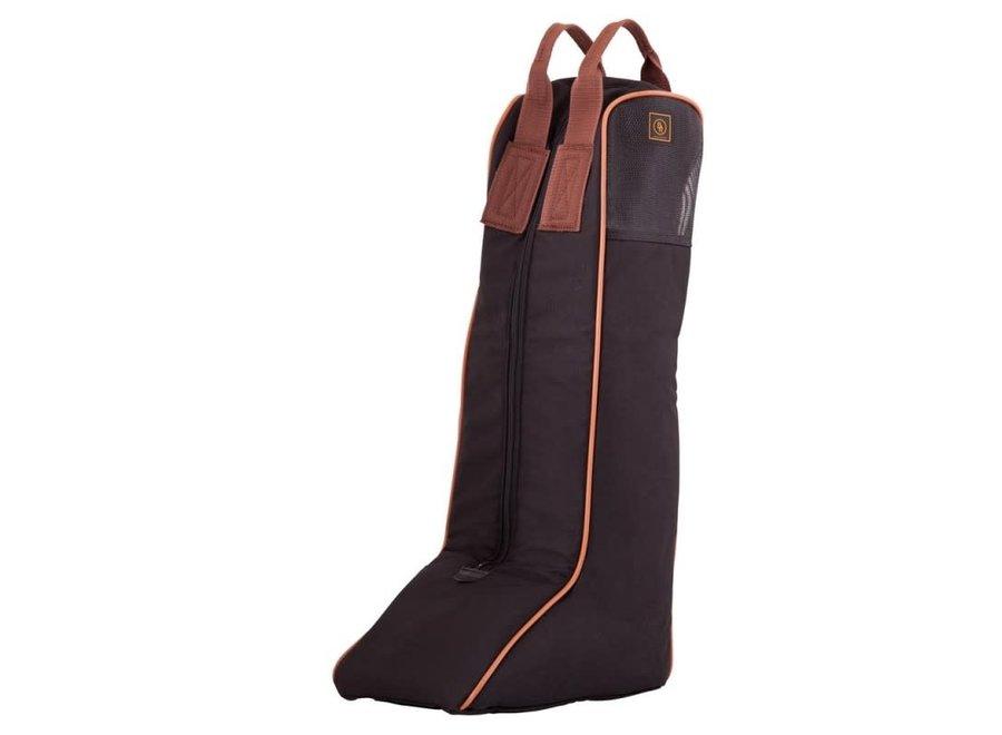 Laarzentas polyester ventilatiedeel Zwart