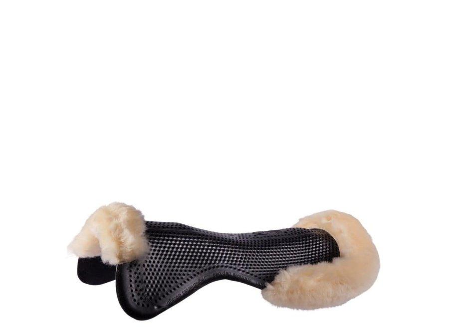 Gel pad therapeutic soft Dri-lex schapenvacht Zwart L
