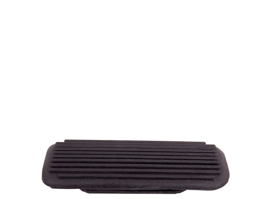 Beugelzooltjes vierkant geribbeld Zwart 12 cm