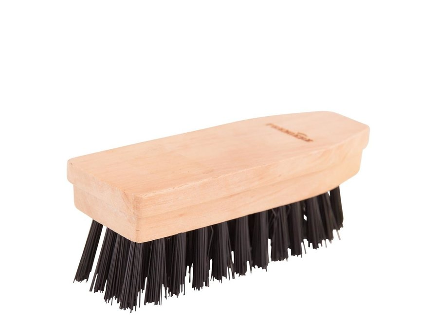 Hoefborsteltje hard houten rug zwart
