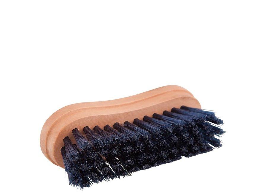 Hoofdborsteltje zacht houten rug Blauw