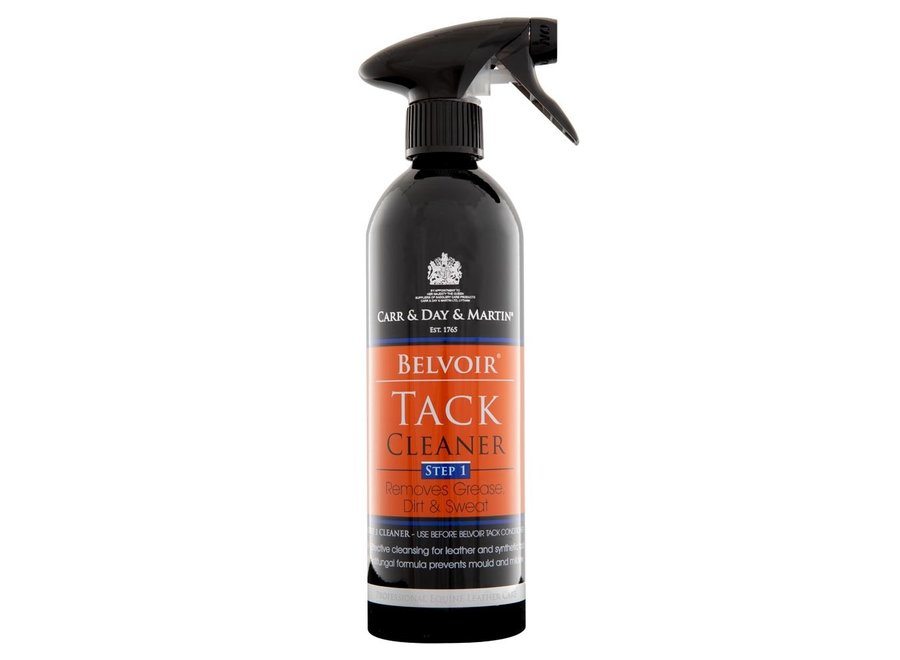 Lederzeep CDM Belvoir Tack Cleaner spray step 1 500ml
