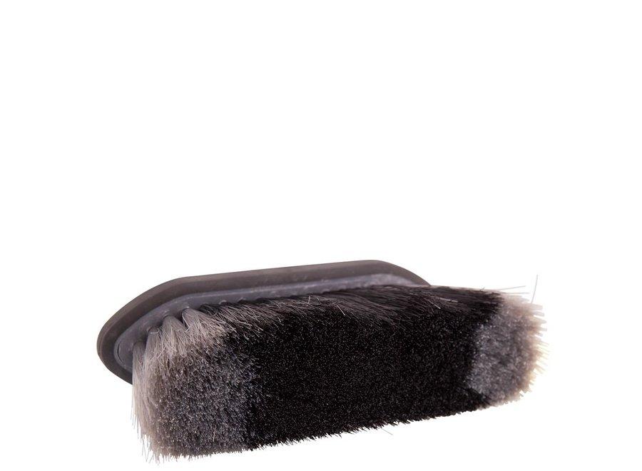 Borstel  Dandy Soft Grip medium 70mm zacht Zwart/Grijs