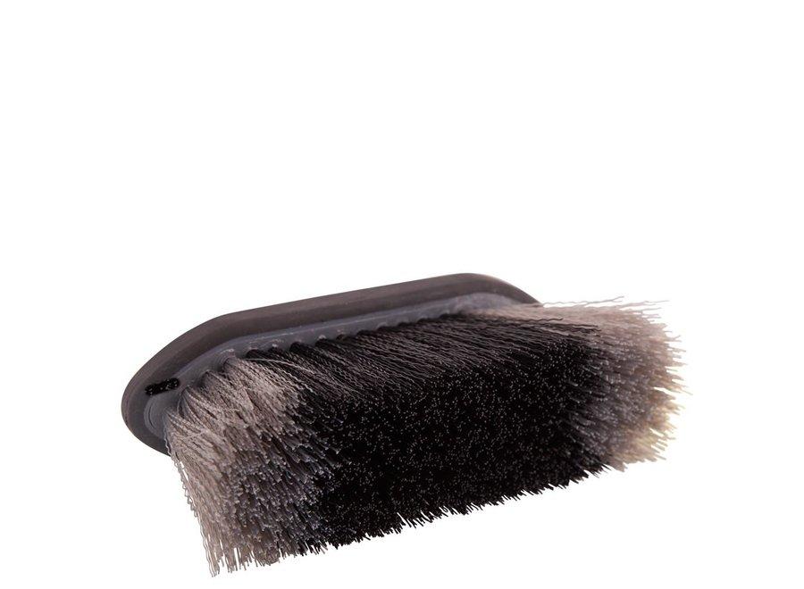 Borstel  Dandy Soft Grip medium 70mm hard Zwart/Grijs