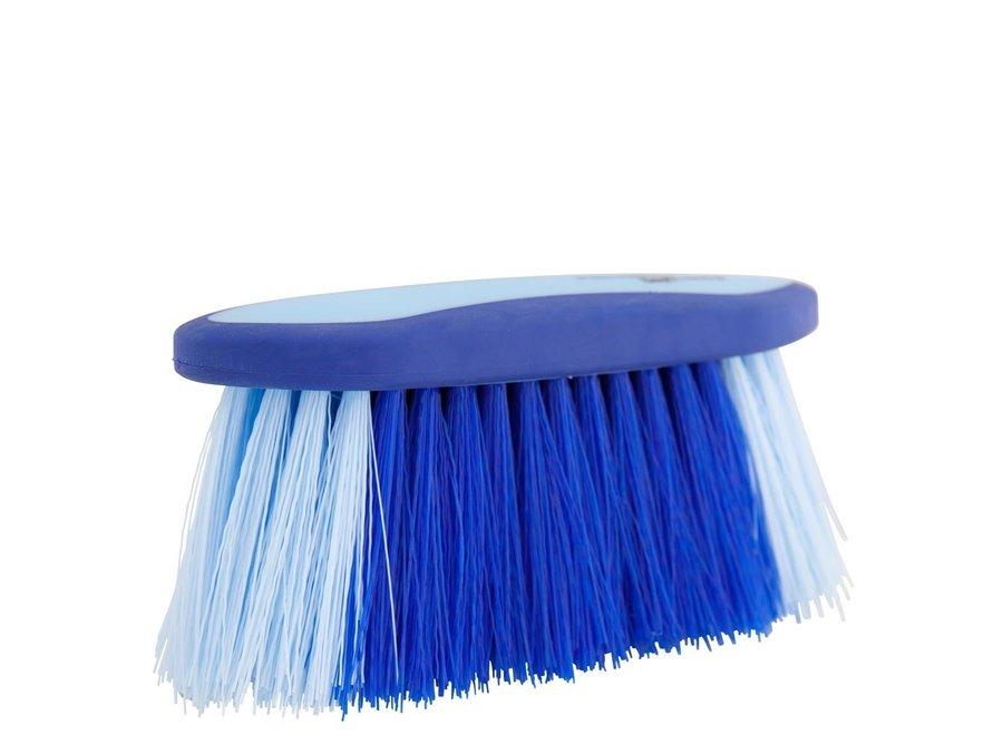 Borstel  Dandy Soft Grip medium 70mm hard Kobalt/Lichtblauw
