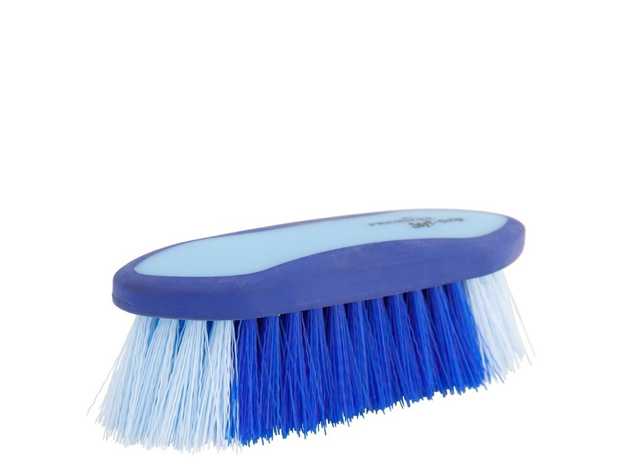 Borstel  Dandy Soft Grip medium 45mm hard Kobalt/Lichtblauw