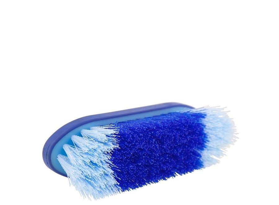 Borstel Dandy Soft Grip groot 45mm hard kobalt/lichtblauw