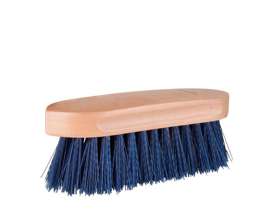 Borstel Dandy medium houten rug Blauw