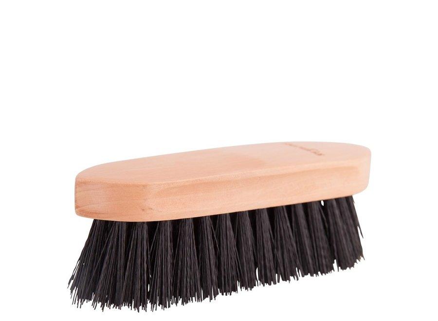 Borstel Dandy medium houten rug Zwart