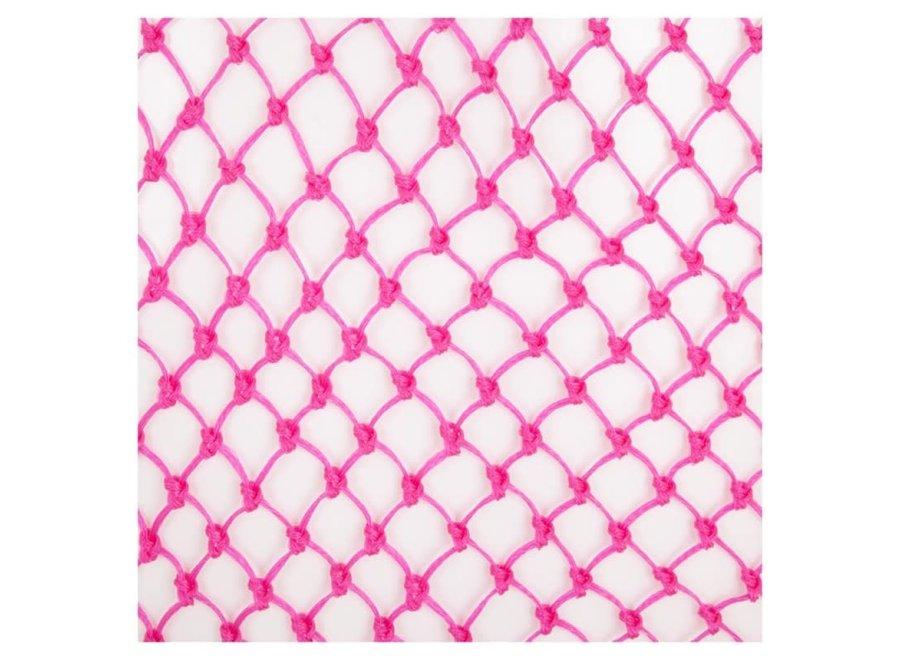 Hooinet standaard extra fijne maas roze