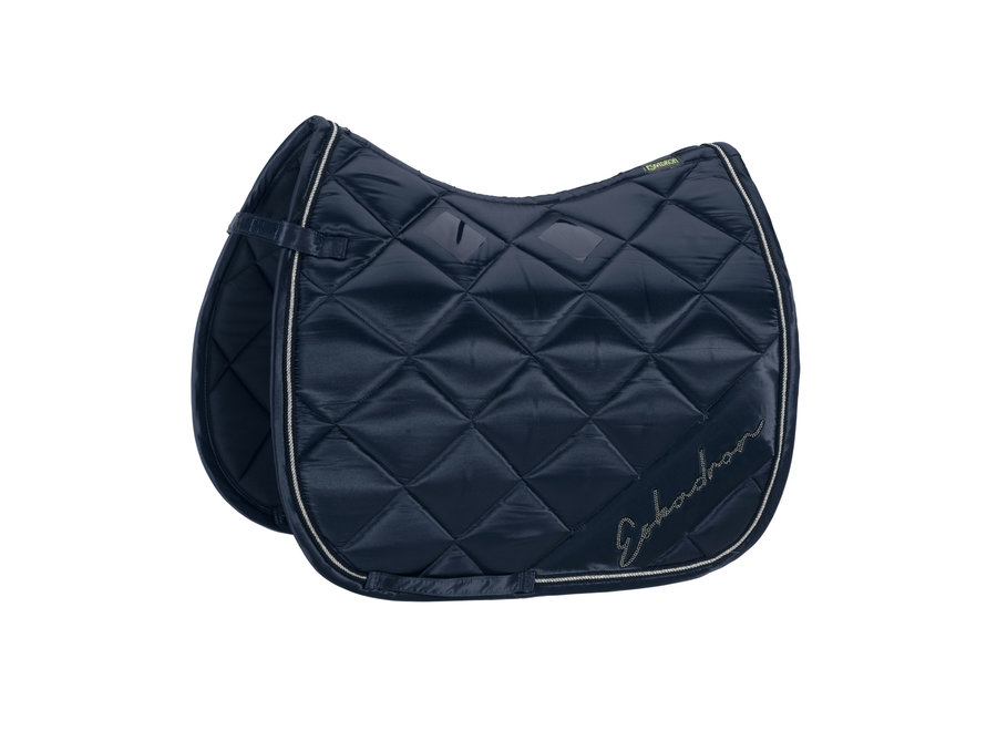 Zadeldek Classic Sports Satin Diagonal DR Navy