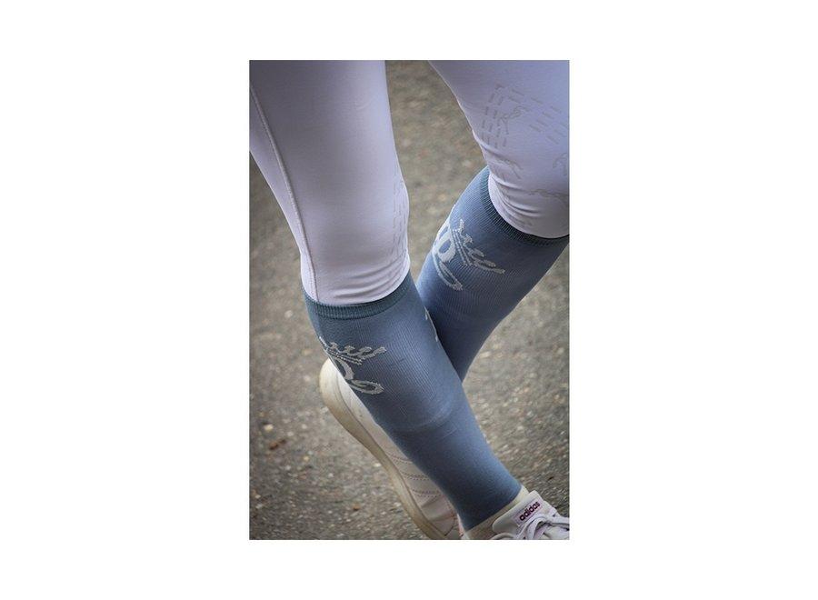 Sokken Concours  per 2 paar Vintage Blauw/Creme 36-41