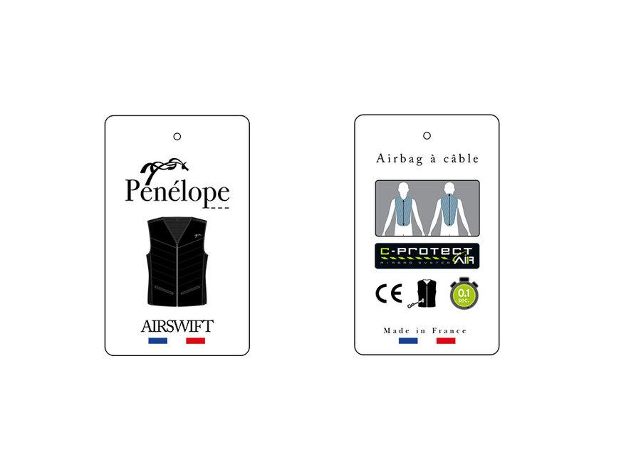 Air Swift Airbag Vest Zwart