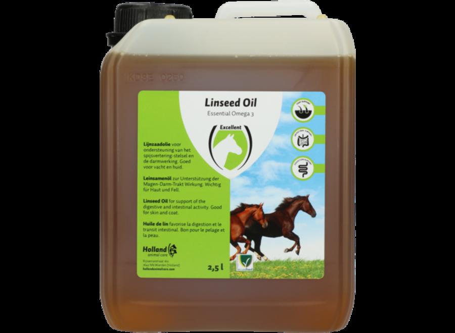 Lijnzaadolie 2,5 liter