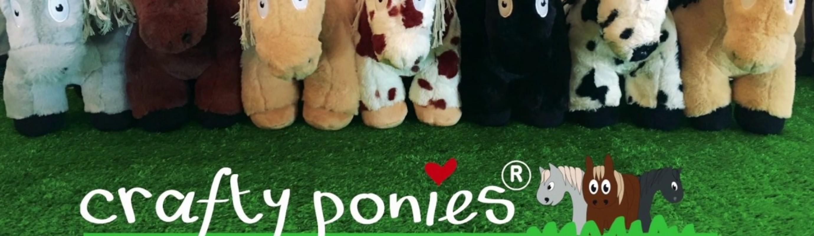 Leerzame paardenknuffels: de Crafty Ponies!