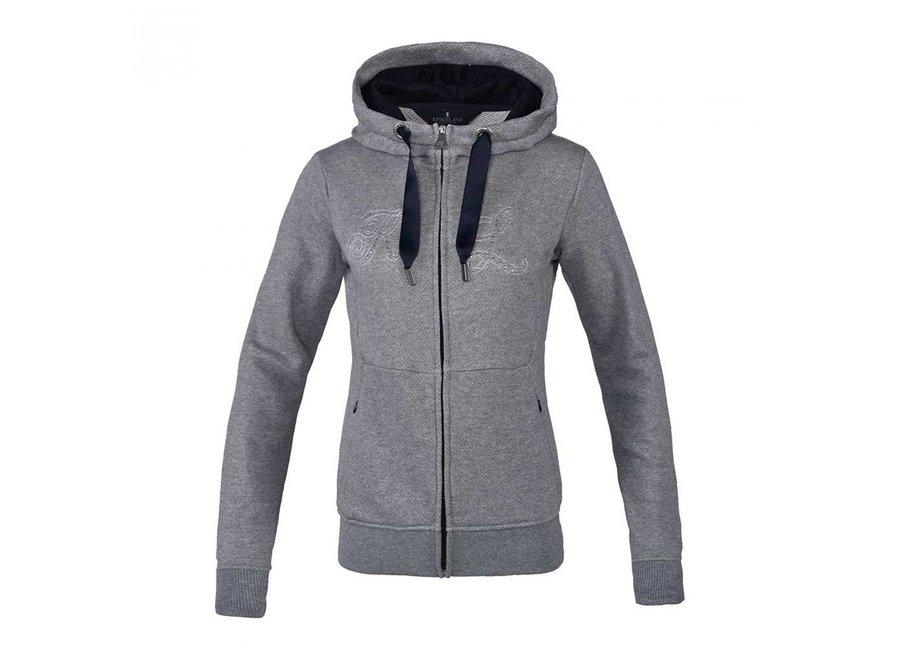 KL Ulrika Sweat Jacket Light Grey