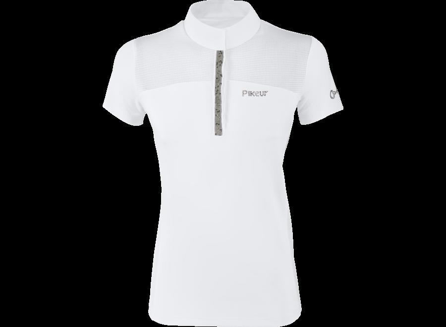 Ebony Competition Shirt wit