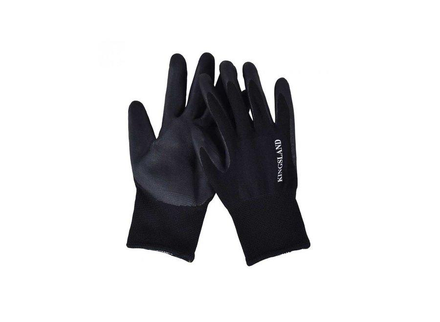 Abbe werkhandschoenen ongevoerd Zwart
