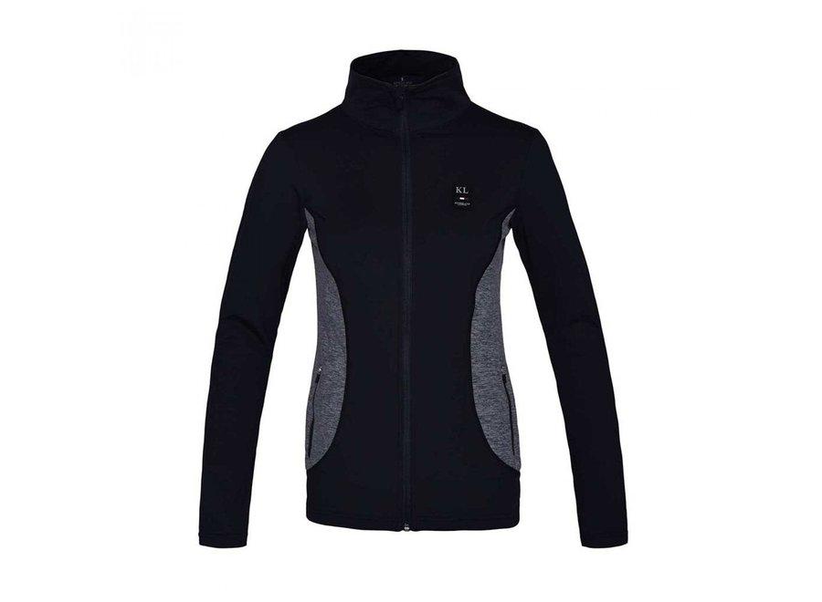 KL Tam Ladies Fleece jacket Navy