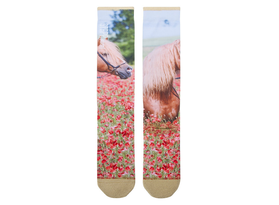Kniekousen Stapp Flower Horse