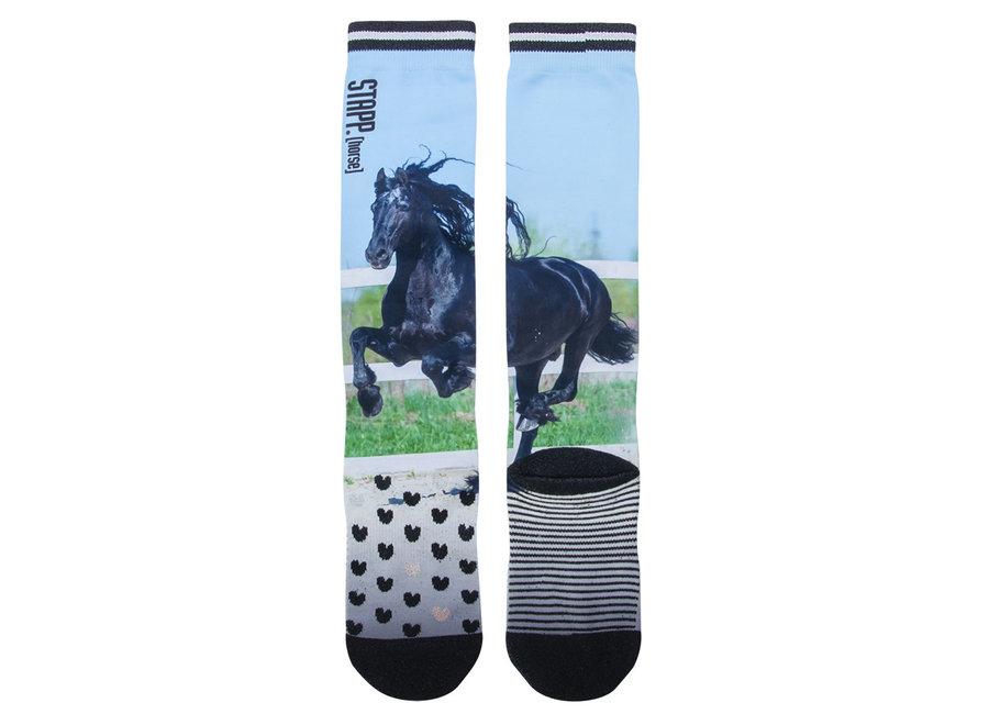 Kniekousen Stapp Black Horse