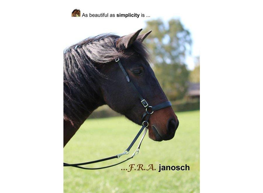 Janosch Bitloos Hoofdstel - met teugels