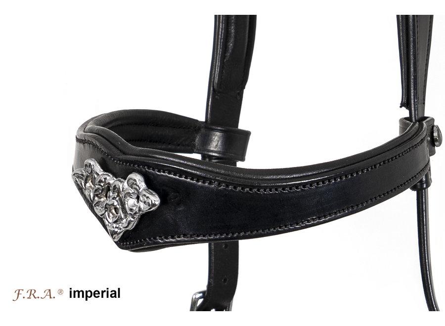Imperial Barok Bitloos hoofdstel - met teugels