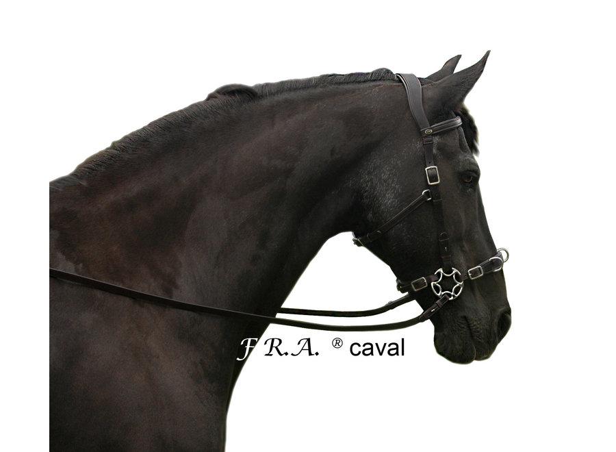 Caval Cavemore Bitloos Hoofdstel - met teugels