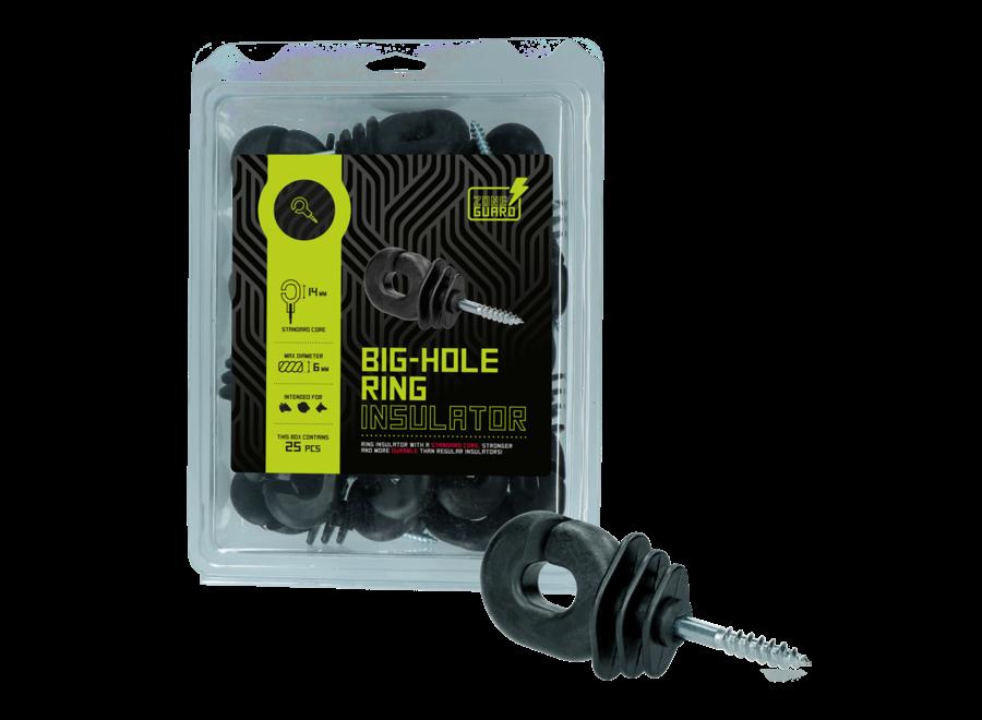 Big-Hole Ring isolator groot oog per 25 stuks