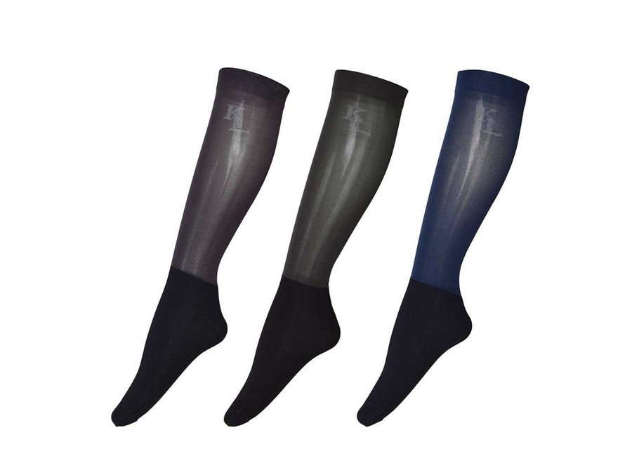 KL Dex show socks unisex per 3 paar