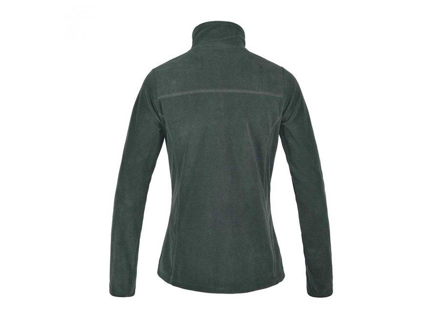 KL Danielle micro fleece jacket Green Black Ink