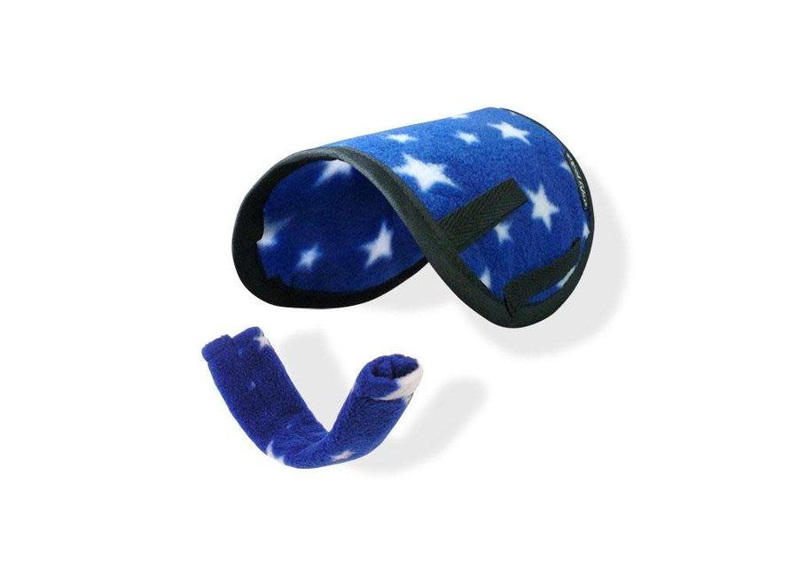 Zadeldekje + singelhoes blauw