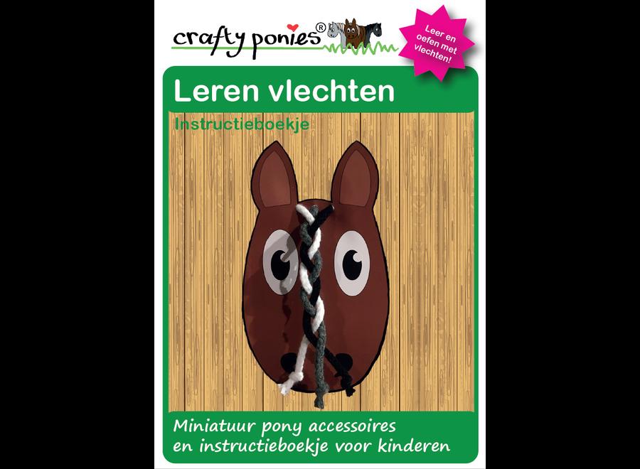 Crafty Ponies vlechtbord manen incl. instructieboekje