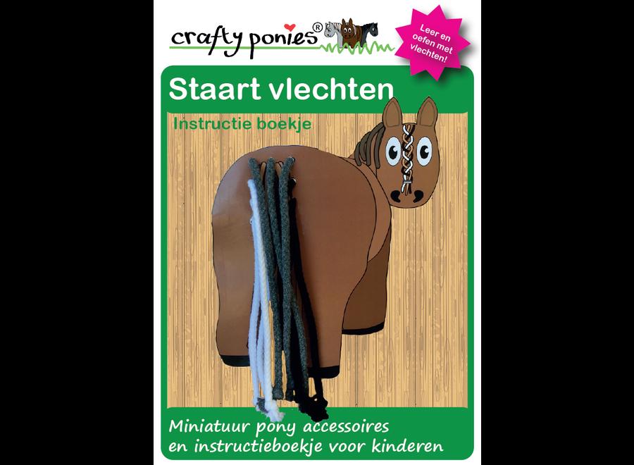 Crafty Ponies vlechtbord staart incl. instructieboekje