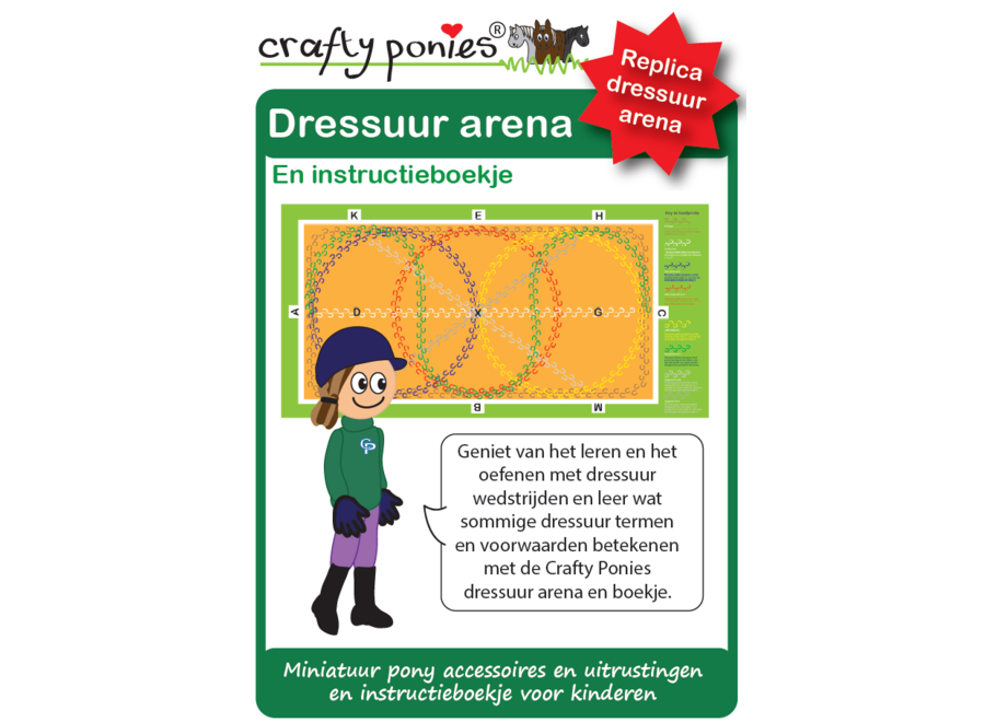 Dressuur Arena incl. instructieboekje