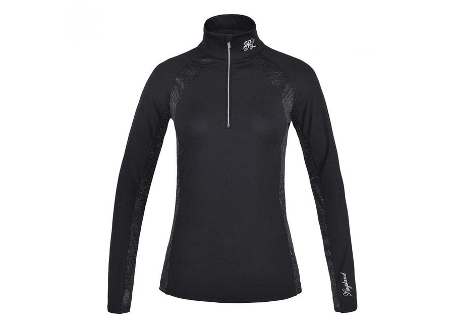 KL Daniella Ladies Training shirt Black