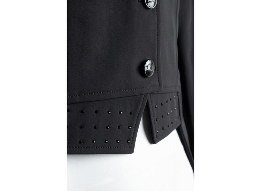 Dressuurjas Long Tailcoat Zwart 38