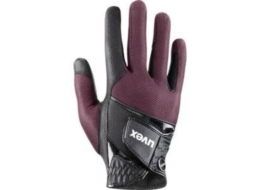 Handschoen Sumair black-burgundy