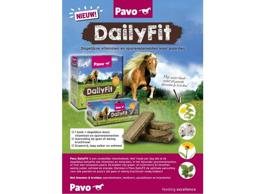 DailyFit 30 koeken (4.2 kg)