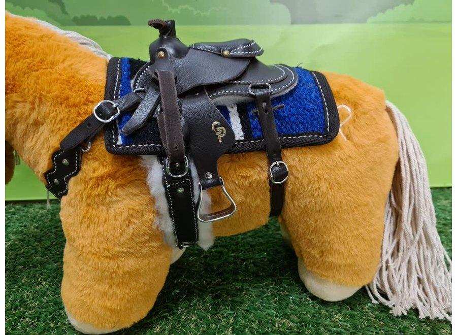 Crafty Ponies Western zadel borsttuig incl. instructieboekje