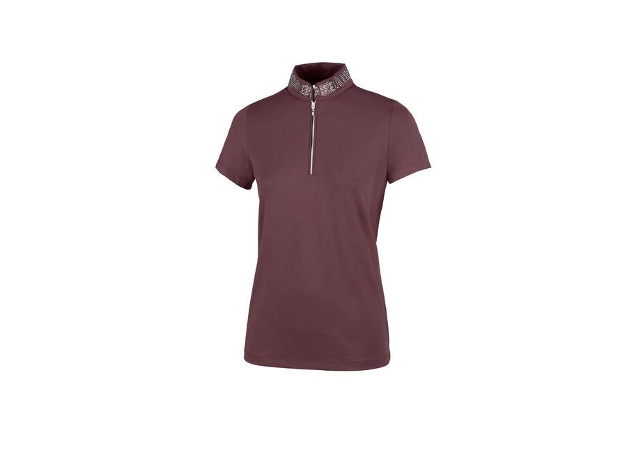 Birby Technical Shirt Aubergine