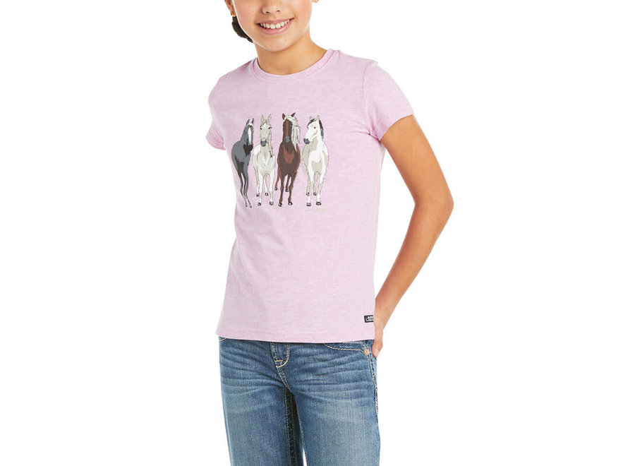 360 View T-shirt Hyacinth Violet